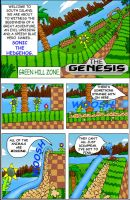 Sonic the hedgehog page 1 by CalebHarms1996