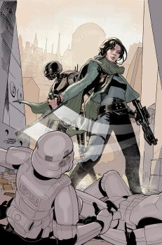 Rogue One #1 Variant Cover by TerryDodson