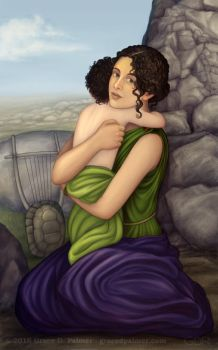 Maia, Mother of Hermes by gpalmer