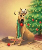 Christmas love by Sabinerich