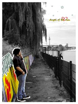 Berlin Impressions #3 [Angel of Boe-rlin] by S-catchy-Cookie