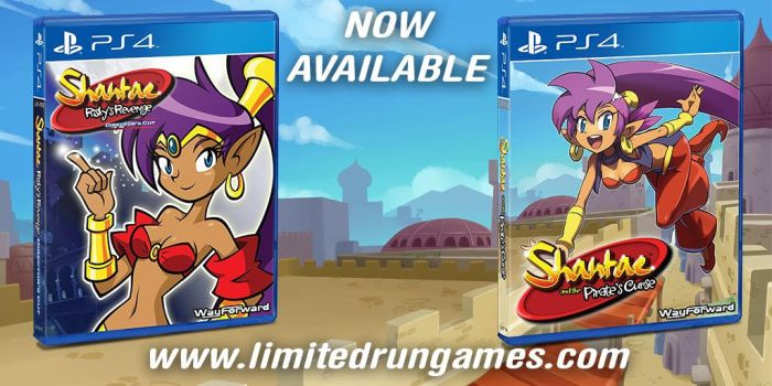 Shantae physical copies by hachimitsu-ink
