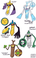 Crossbred Aegislash Variations