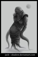 Rotten swamp--creature by Jack---Shadow