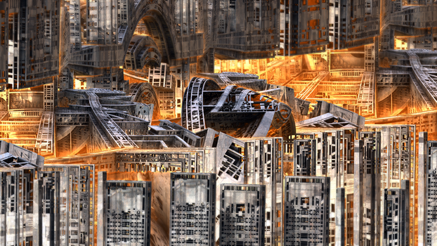 Twisted Architecture XXIII by banner4