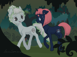 A stroll in Everfree forest... by t4mibun