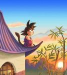 I'm sittin' on the roof at sundown-time. by ImmaSexyGoku