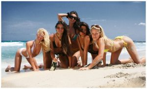 Latvian Girls in Ibiza by the-pRofile