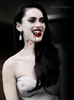 Megan The Vampire by KittieVampire
