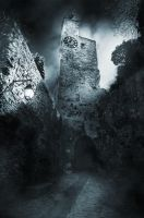 Gothic Tower by celairen-stock