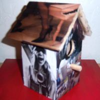 music birdhouse by RebelWaltz