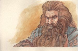 Gloin son of Groin, Father of Gimli by citrus-slice