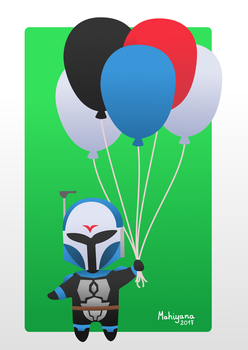 Bo Katan Birthday Card by MahiyanaCarudla
