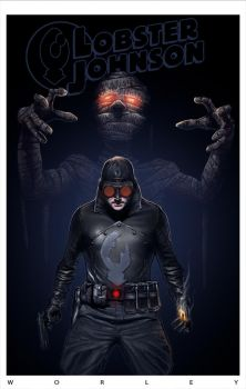 Lobster Johnson by coltonworley
