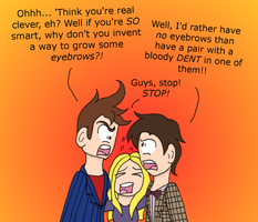 Doctor Who 50th Anniversary in a Nutshell by CaptainAki13