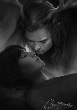 Six Gun Snow White - The Kiss by Charlie-Bowater