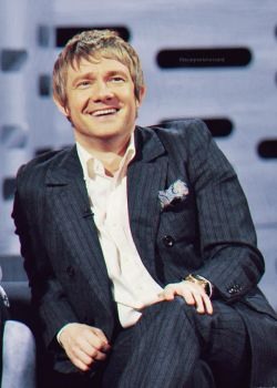 Martin on The Graham Norton Show (January 2012) by Meowski