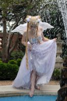 Sailor Moon- Angel Fountain by Ginger-Hero