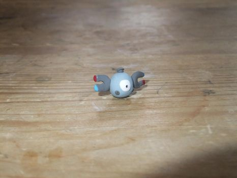 Clay Magnemite by phraxdust