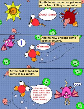 Le Spore Adventures. Page 4: Cell-Spin. by thelakotanoid1