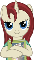 Akira loves her new book by TheAmazingNoodle