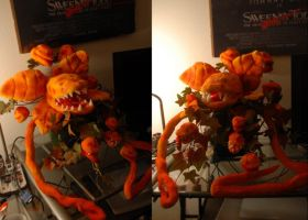 Audrey 2 Puppet by Miki-