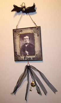 Poe Hanging Collage by acatnamedfrank