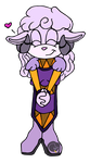 CP: Bitki the Big Horned Ewe by Drawing-Demon22