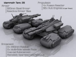 GDI Mammoth Tank 28 by Helge129