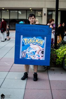 Otakon 2013: Pokemon Blue by JranSakarra