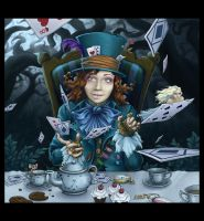 I'm as Mad as a Hatter by NoName-Face