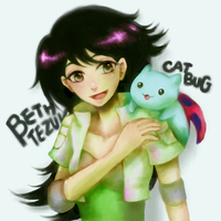 Beth and Catbug by monorhapsody