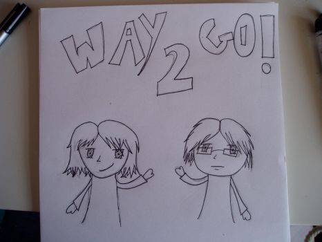 Way 2 Go Title Page by GothicaWay