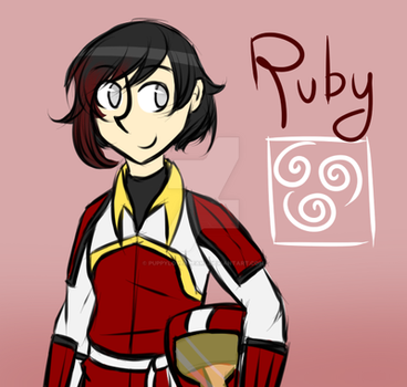 RWBY Pro Bending AU - Ruby by puppyloverpearl