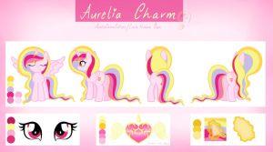 Aurelia Charm - Reference Sheet by AureliaCharmCutiees