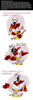 Undertale ask blog: so, about human anatomy... by JimPAVLICA