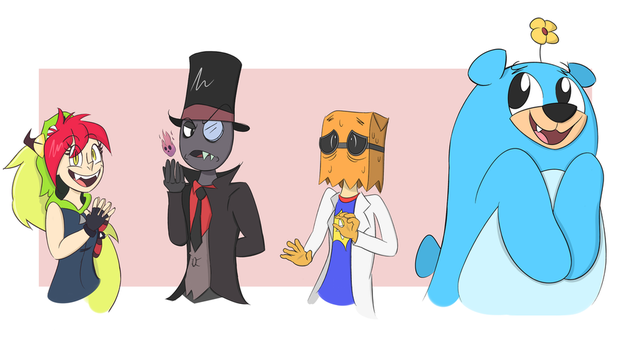 They're Villainous! by Mustache9