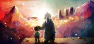 Undertale - Sunset by 3o2