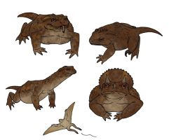 Scientifically accurate Jurassic Park dinosaurs by Ramul