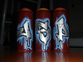three cans one name by jaspie1
