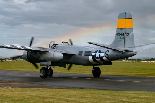 Douglas A-26B Invader by Daniel-Wales-Images