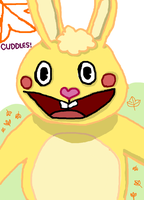 Cuddles The Bunny (Happy Tree Friends) by RayForAwesome