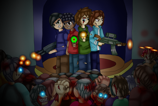 Inevitable Death - Zombies by Cuperthekiller