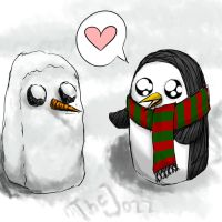 Gunter and Snowgunter by TheJozz