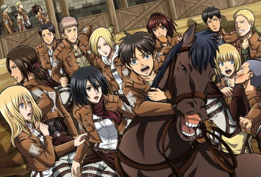 Attack On Titan : All Characters !!! by mada654