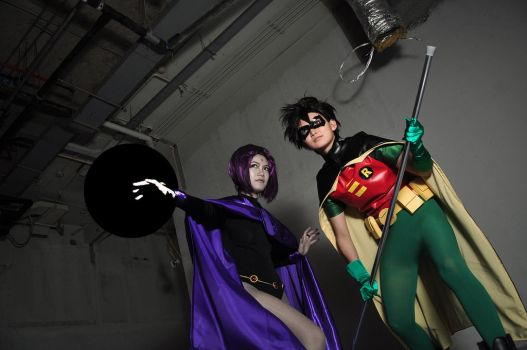 TEEN TITANS by AsumiChan