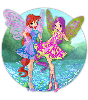 Winx: Butterflix Power! by DragonShinyFlame