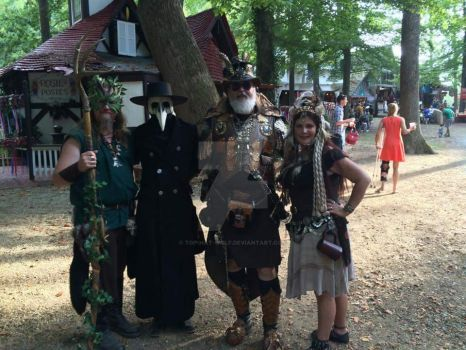 Maryland RenFest 2015 by Top-Hat-Wolf