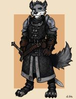 Wolf Knight 03 by TheLivingShadow