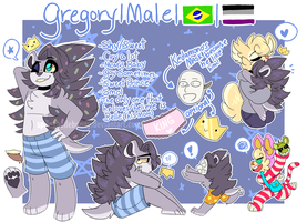 Gregory's Prince Ref Sheet! by bigbun